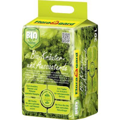 Terriccio per piante aromatiche e semina bio senza torba 40 litri
