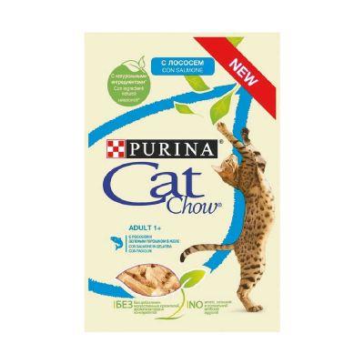 Cat chow salmone e fagiolini x 10