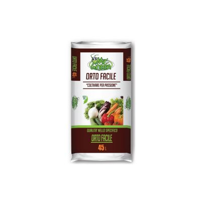 Terriccio da orto facile bio 45 litri
