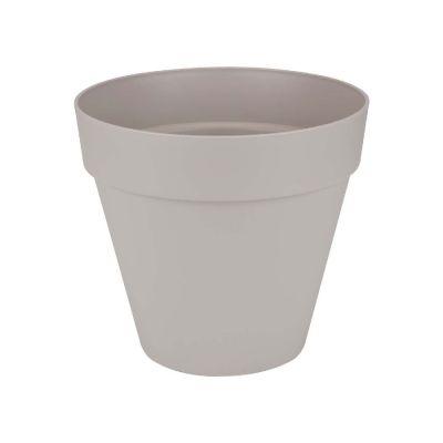 Vaso  loft urban warm grey cm. 25 elho