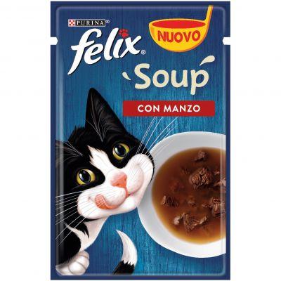 Felix soup manzo da 48g