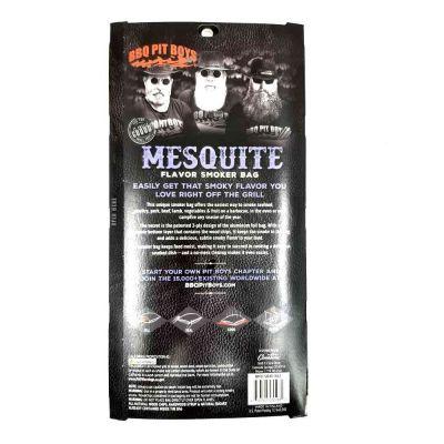 Sacchetto affumicatura alluminio Mesquite 28x48 cm