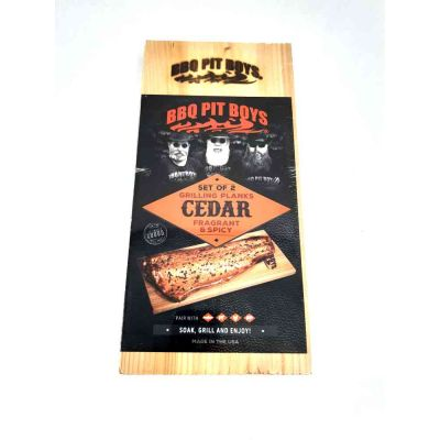 Tavole affumicatura Cedar x2