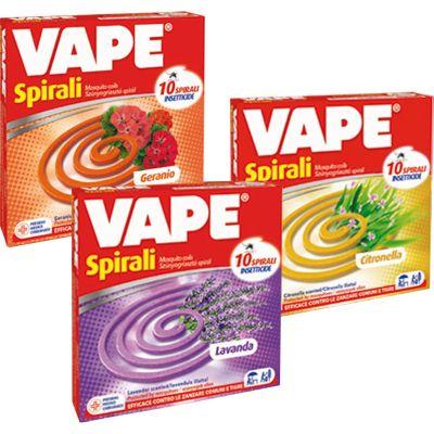 Vape spirale profumata