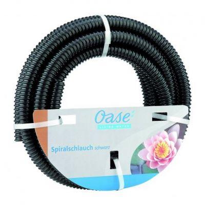 Tubo flessibile a spirale nero mt. 5