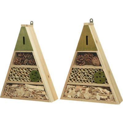 Casetta per insetti triangolare