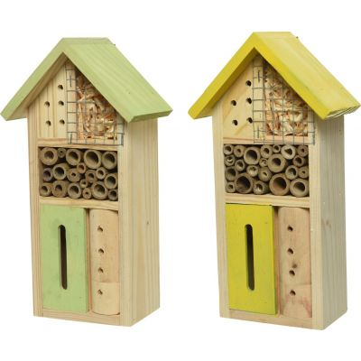 Bugs Hotel: casetta per insetti colorata