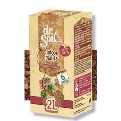 Fertilizzante per piante da interno Dr. Soil per 2 litri