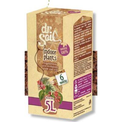 Fertilizzante per piante da interno Dr. Soil per 5 litri