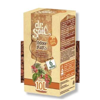 Fertilizzante per piante da interno Dr. Soil per 10 litri