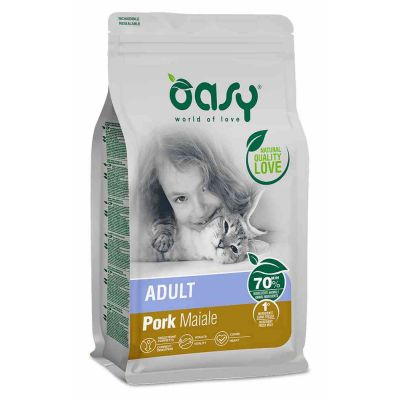 Oasy cat adult maiale