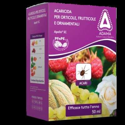 Acaricida Apollo per Orti alberi da frutto e piante ornamentali 50 ml