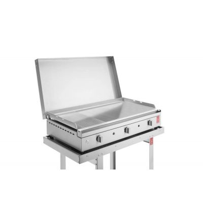 Barbecue a gas Chef 55 plancha