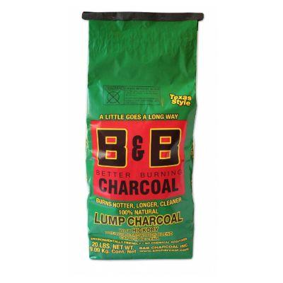 B&B Carbonella al legno di Hickory 9 kg