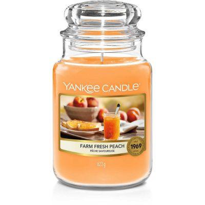 Giara Yankee Candle Farm Fresh Peach Grande