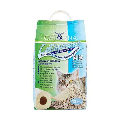 Lettiera cat&rina Catigienica Bio 12 litri
