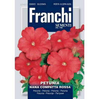 Petunia n.comp.rossa db semi