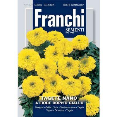 Tagete nano f.d.giallo db semi