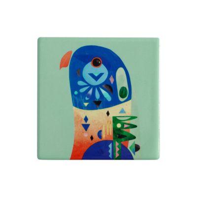Sottobicchiere in ceramica Lorikeet Pete Cromer