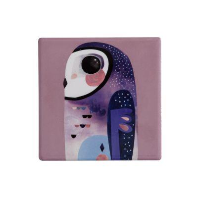 Sottobicchiere in ceramica Gufo Pete Cromer