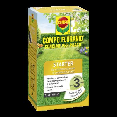 Floranid Staeter concime per prato 2,5 kg