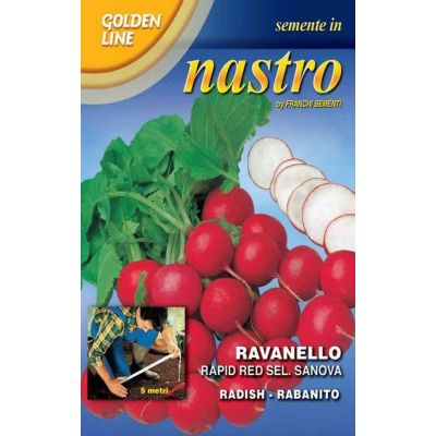 Ravanello rapid red sanova Nastro