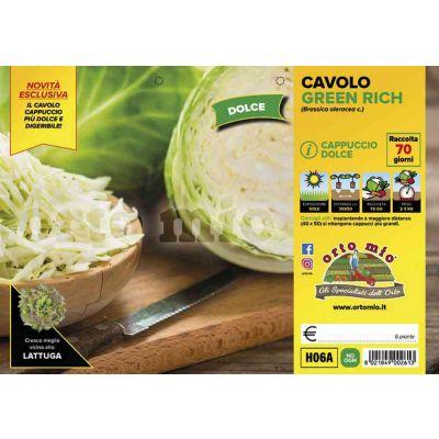 Cavolo Cappuccio Green Rich