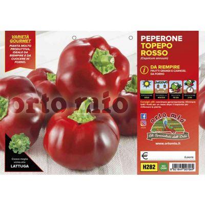 Peperone Topepo Rosso
