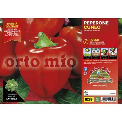 Peperone Cuneo Rosso