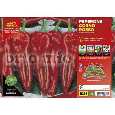 Peperone Corno Rosso