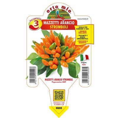 Peperoncini Arancio Mazzetti Stromboli
