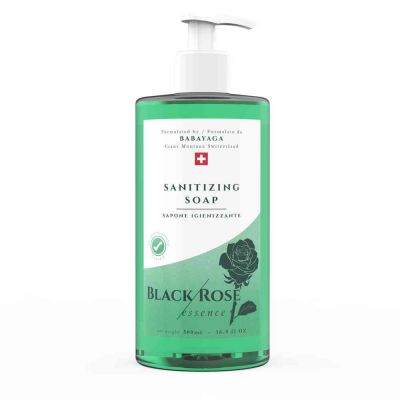 Sapone igienizzante black rose ml.500