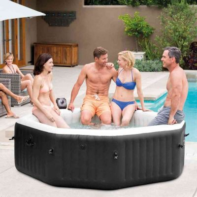 Piscina Pure Spa Jet & Bubble Deluxe Octagonal 6 posti