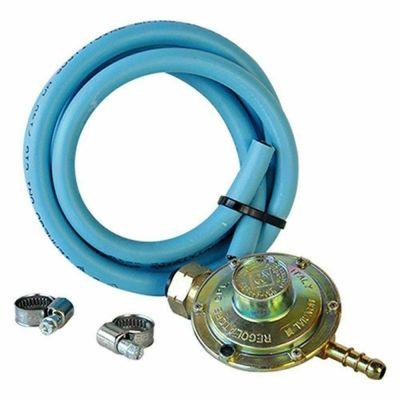 Kit tubo gas piu' regolatore di pressione