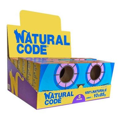 Multipack Limited Edition Natural Code 10 x 85g