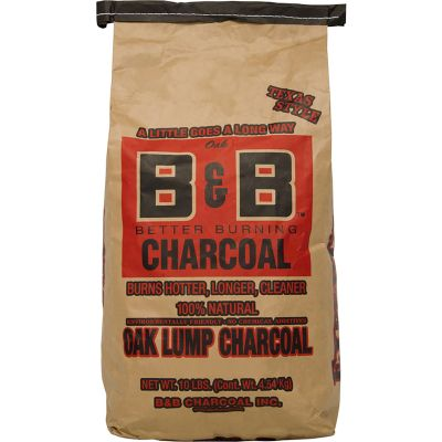 B&B Oak lump charcoal 4,5 kg