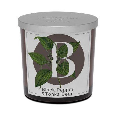 Cand. black pepper & tonka
