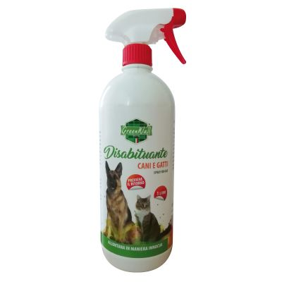 Disabituante cani e gatti spray 1 litro