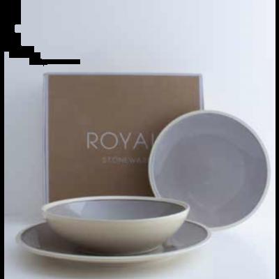 Plate Royal Stone grey | Livellara