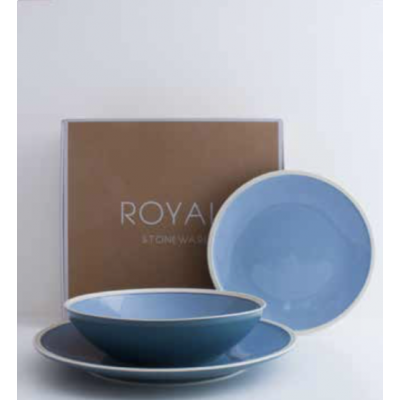 Plate Royal Stone blue | Livellara