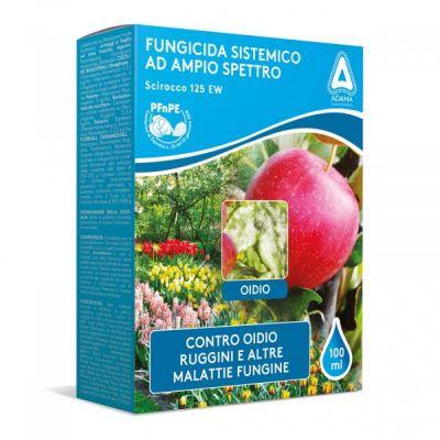 Scirocco 125 EW fungicida sistemico a base di Tetraconazolo ML. 100
