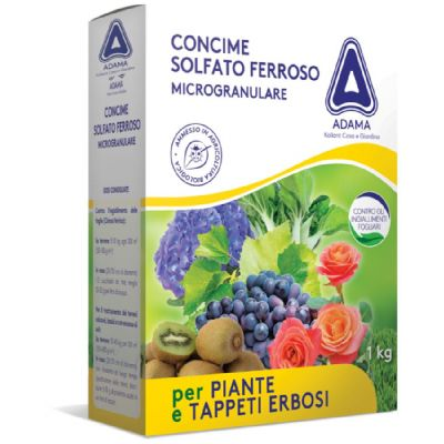 Concime Solfato ferroso per piante e tappeti erbosi 1 Kg