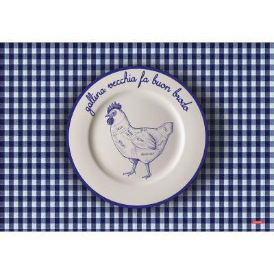Tovaglietta gallina
