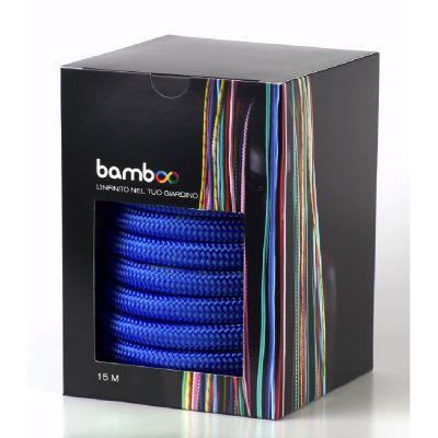 Tubo bamboo blu