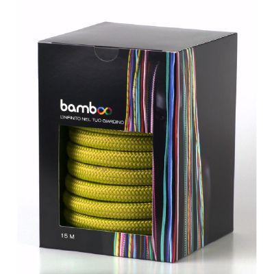 Tubo bamboo giallo